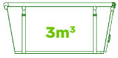 3m waste bin
